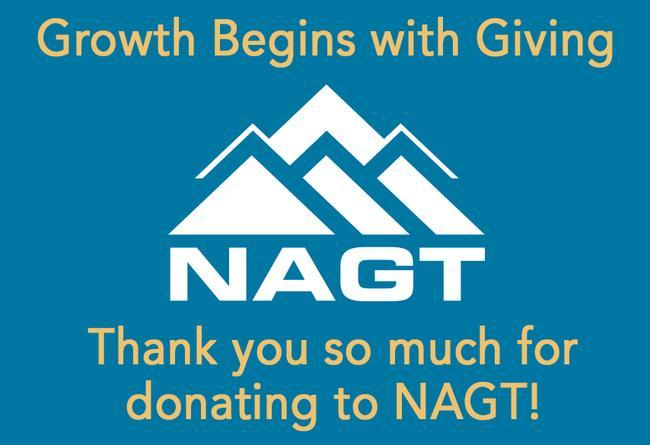 NAGT Donation Thank You