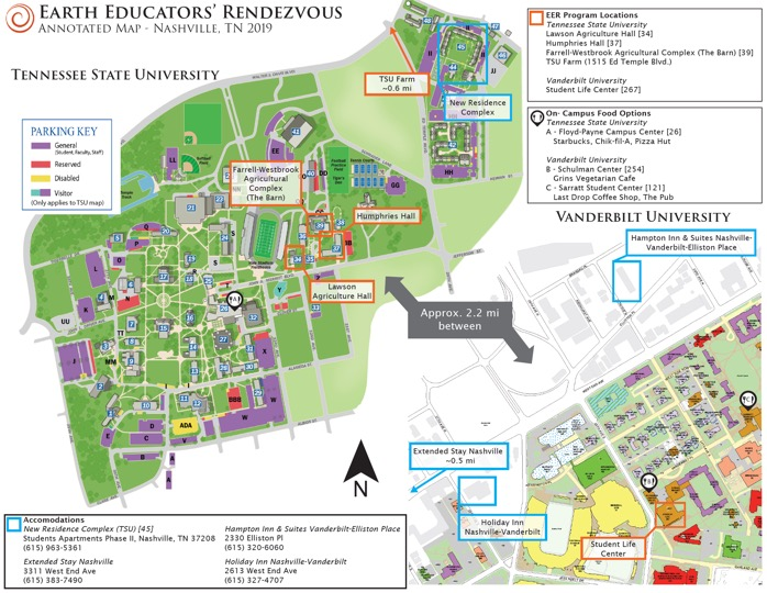 tennessee state university campus map Travel And Accommodations tennessee state university campus map