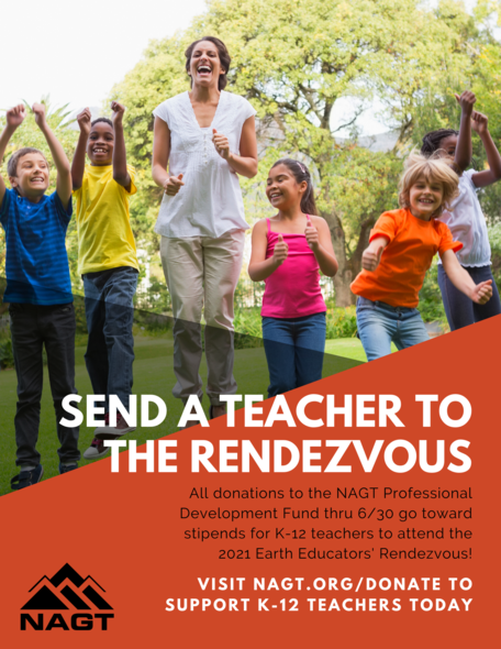 Send a Teacher to the Rendezvous Flyer Image