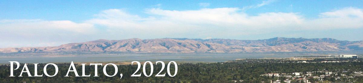 Palo Alto area skyline
