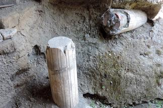 Broken columns at Oplontis