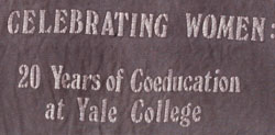 Celebrating 20 years of coeducation Yale College