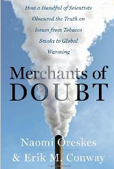 "Cover of ""Merchants of Doubt"""