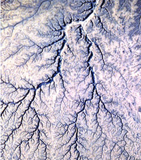 dendritic drainage