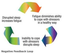 Diagram of Fatigue feedback