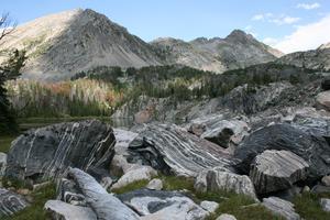 Migmatites Spanish Peaks