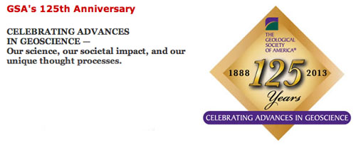 GSA 125th anniversary logo