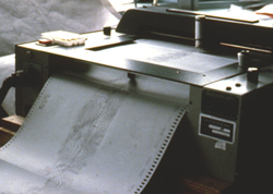 Photo of SeaBeam Classic plotter