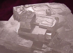 Photograph of Halite Crystals