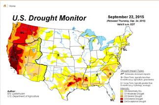 drought monitor homepage