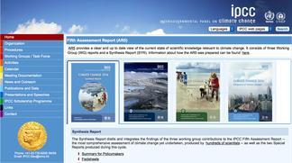 IPCC home page