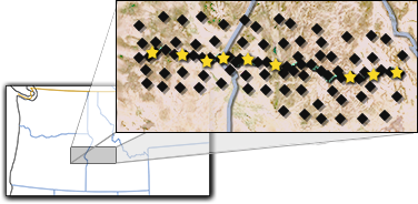 IDOR Seismometer map