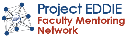 Project EDDIE Faculty Mentoring Network logo