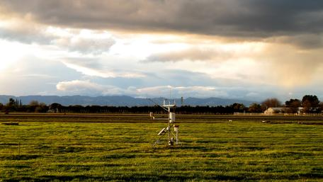 Weather Station Landscape