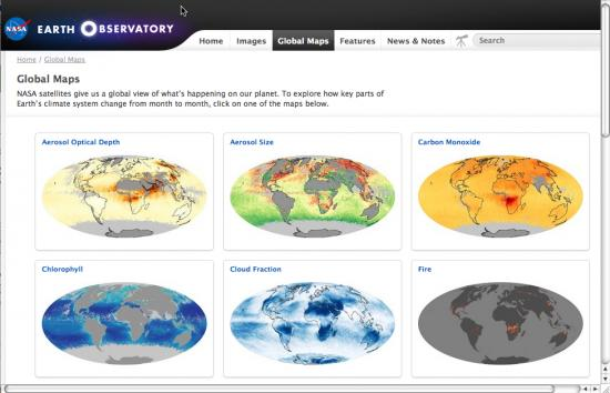 global maps page