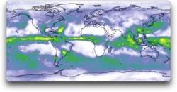 global image of rainfall May 1982