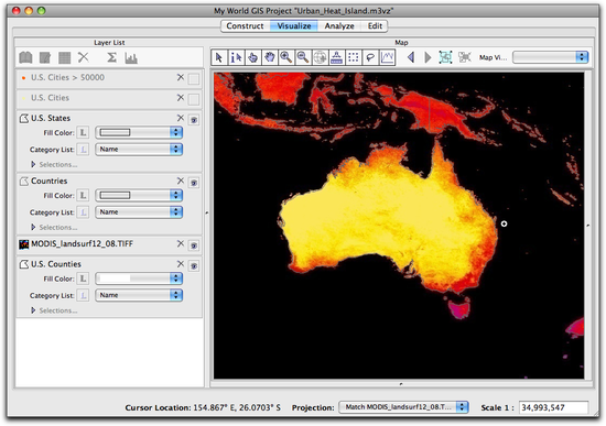 15 zoomed around Australia