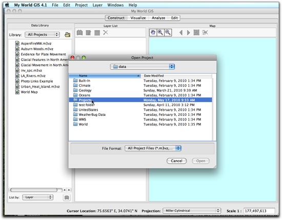 3 Projects Folder