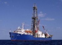 joides resolution drill ship