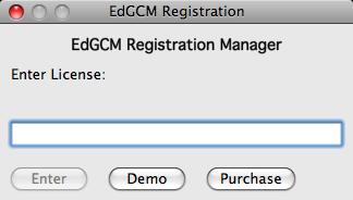 EdGCM registration