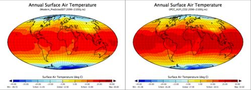 surface air temp map pair