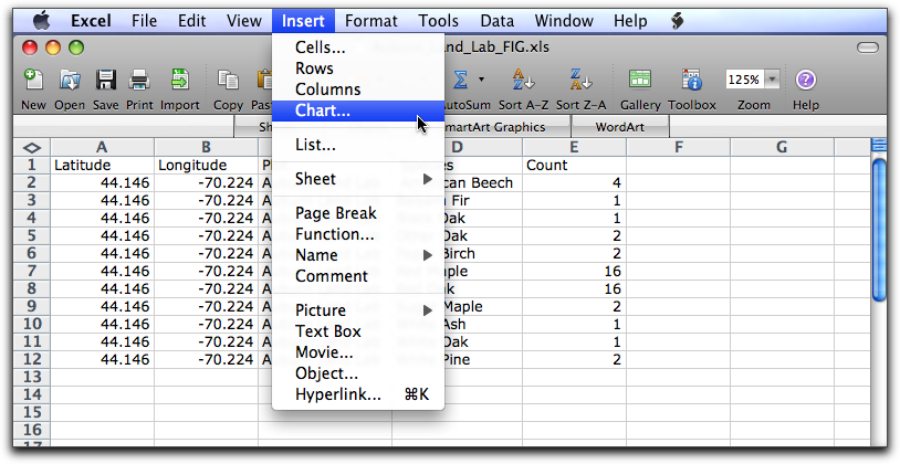 how to change pre selections tab for excel dropdown menu