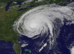 irene makes landfall