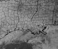 This is a zoomed in image of the Louisiana area which shows county lines.