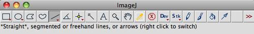 new imageJ toolbar