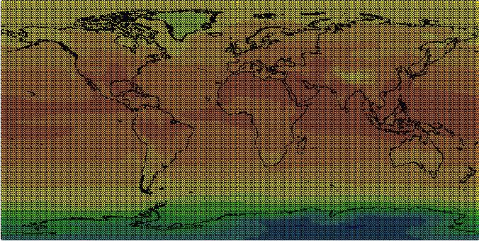 tas_JJA_2021_2040_Scenario_A2 map