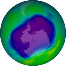 maximum ozone hole 2006