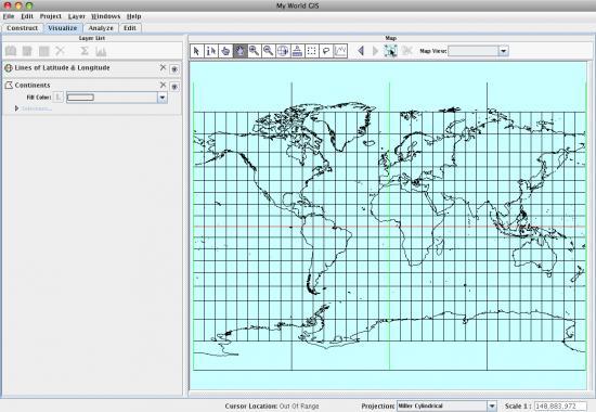 viz mode and map