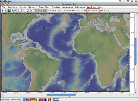 GeoMapDepth