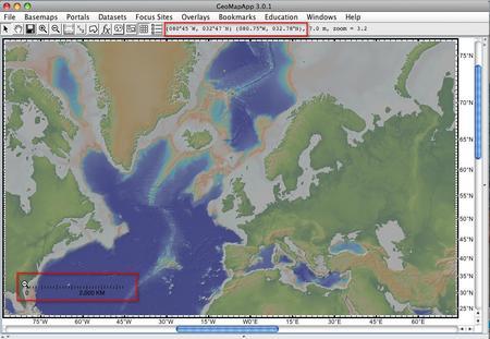 GeoMapScaleDepth
