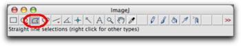 image J toolbar