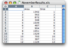 November results xls Screen Shot