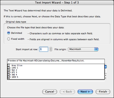 text import wizard 1