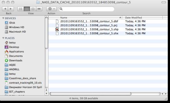 file folder contents