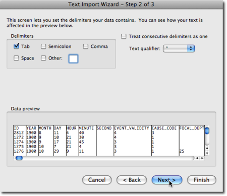 import wizard 3