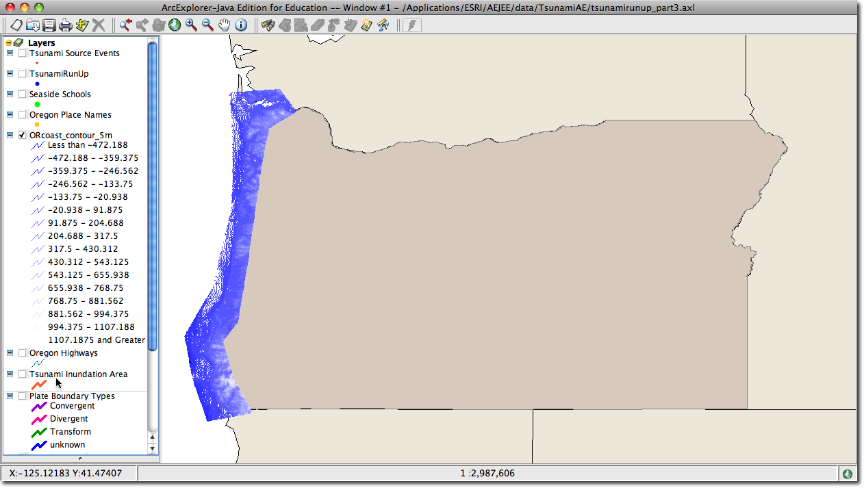 part 4 analyze tsunami risk for coastal oregon