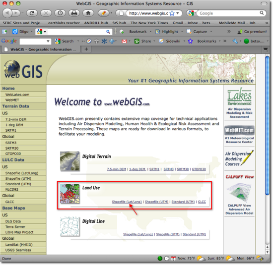 LULC WebGIS