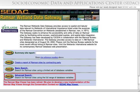 RamsarAdvancedSearch