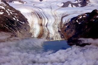 Glacier near Halo Bay, Alaska