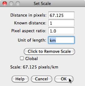 Glacier Set Scale Window