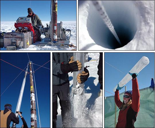 Greenland Ice Cores