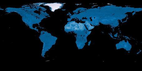 NASA NEO 1 month Albedo