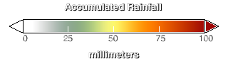 Cumulative Rain Amount Scale