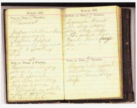diary historical