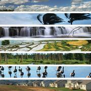montage from our changing planet