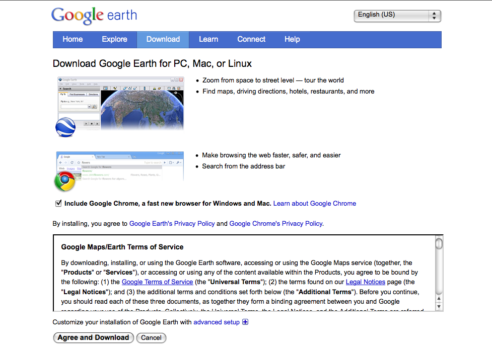 Part 1—Download and Install Google Earth on